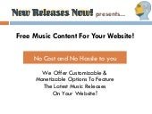 Free Music Content For Your Website