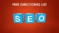 FREE Directories List - List of Free Directories Can Save You Lot of Money!