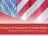 Freedom Of Expression In Us