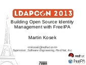 Building Open Source Identity Management with FreeIPA