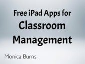 Free iPad Apps for Classroom Manage...