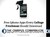 Free Iphone Apps Every College Fres...