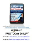 Free kindle book on marketing today 26 may on Amazon