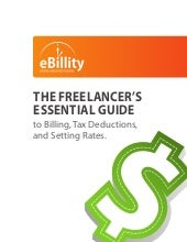 eBillity Time Tracking Software - Freelancer's Guide