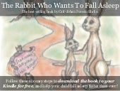 Free on Kindle - The Rabbit Who Wants to Fall Asleep
