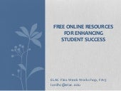 Free online resources workshop 8 21...