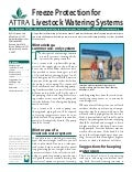 Freeze Protection for Livestock Watering Systems