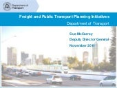 Freight and public transport planni...