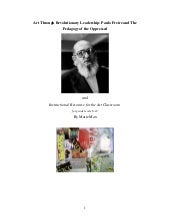 Freire: Art Through Revolutionary L...