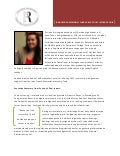Named Internship Profile Summary - Carinna Arvizo (French)