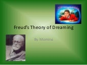 Freuds theory of dreamin