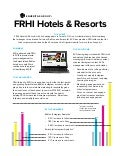 [Case Study] FRHI Hotels & Resorts: Content Marketing and Social Media
