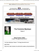Friedan  1963  -the feminine mystiq...