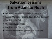 Salvation Lessons from Adam to Noah