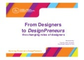 From Designers to Designpreneurs