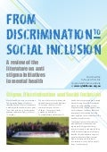 From Discrimination to Social Inclusion: A review of the literature on anti-stigma initiatives in mental healthy final