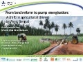 From land reform to pump energisation