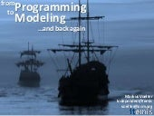 From Programming to Modeling And Ba...