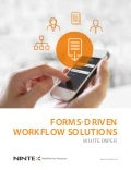 Froms Driven Workflow Whitepaper From Nintex and Atidan