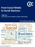 CIC 2011 White Paper: From Social Media to Social Business Topic 1: An Overview of the Evolution of Chinese Social Media