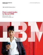 From Social Media to Social CRM, IB...