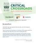 Frontier College Presents Critical Crossroads