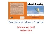 Frontiers in islamic finance