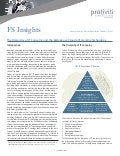 The Hierarchy of IT Concerns and the Ambiguous Cloud of Emerging Technology - FS Insights - Protiviti newsletter