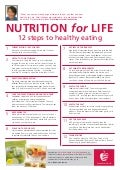 12 steps to healthy eating