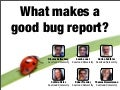 What makes a good bug report?