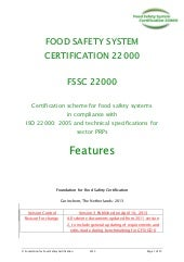 Fssc 22000 guidance manual april-2013