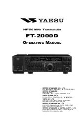 Ft 2000d Operating Manual