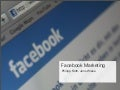 Facebook Marketing Präsentation Fucamp 2010