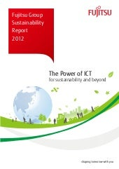 Fujitsu Group Sustainability Report...