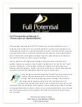 Full potential show ep. 9 three levers for creating greater wealth