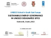 2012 UNESCO School in South East Eu...