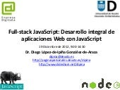 Full-stack JavaScript: Desarrollo i...