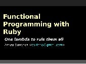 Functional Programming with Ruby