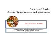 Functional Foods   Ranjan Sharma Ju...