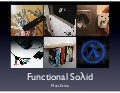 Functional solid