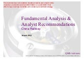 Fundamental Analysis and Analyst Re...