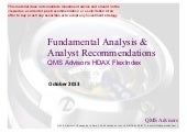 Fundamental Equity Analysis - QMS A...