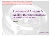 Fundamental Equity Analysis - FTSE ...