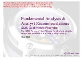 Fundamental Equity Analysis - QMS G...