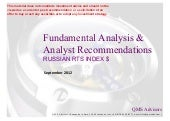Fundamental Equity Analysis - RTSI$...