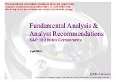 Fundamental Equity Analysis - S&P 1...