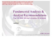 Fundamental Equity Analysis - Top 1...