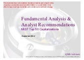 Fundamental Analysis & Financia...