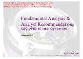 Fundamental Equity Analysis & Analy...