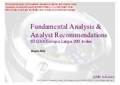 Fundamental Equity Analysis - STOX...
